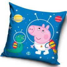 Peppa Pig párna, díszpárna 40*40 cm Peppa az űrben