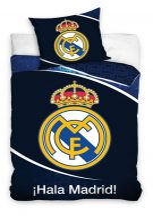 Real Madrid ágyneműhuzat 140×200cm, 70×80 cm