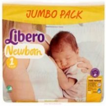 Libero Newborn 2 Mini: 3-6 kg 70 db