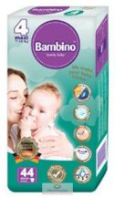 Bambino nadrágpelenka 4 Maxi 7-18 kg 44 db