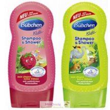 Bübchen gyereksampon és tusfürdő (kettő az egyben), 230 ml, 2 fajta