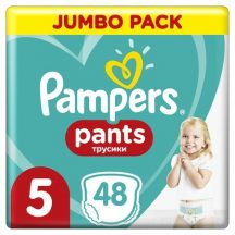 Pampers UP&GO bugyipelenka 5 Junior: 12-17 kg 48 db