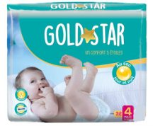 Gold Star nadrágpelenka 4 Maxi 8-18 kg 32 db *