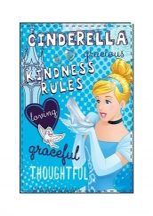 Disney Princess, Hercegnők Plüss takaró Hamupipőke