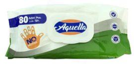 Aquella antibakteriális higieniai törlőkendő, kupakos 80 lapos