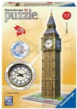 +Puzzle 3D 216 db - Big Ben órával 12586