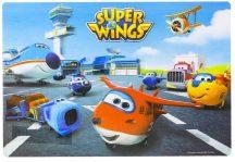Super Wings Tányéralátét 3D