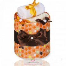 ECO - LUX pelenka torta, kicsi Narancs Mancsok