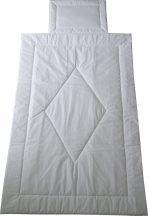 Fehér ovis ágynemű szett, 90x140 cm-es takaró 40x50 cm-es párna