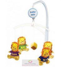 Babymix zenélő körforgó kiságyra - oroszlánok