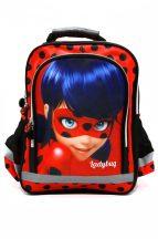 Miraculous Ladybug, Csodálatos Katicabogár hátizsák, iskolatáska 29*37*13CM