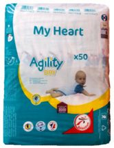 My Heart nadrágpelenka, 3 Midi 4-9 kg, 50 db