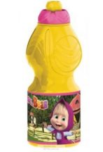 Masha and the Bear, Mása és a Medve Kulacs, sportpalack 400 ml