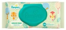 Pampers natural clean 64 lapos