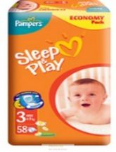 Pampers Sleep & Play 4 Maxi: 9-14 kg 50 db