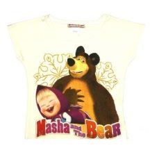 Mása és a medve gyerek póló (Méret: 134)