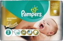 Pampers Premium Care Carry pack nadrágpelenka 2 Mini	3-6 kg 38 db
