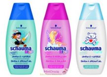 Schauma Kids és Baby tusfürdő & sampon 250 ml, 3 fajta