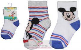 Disney Mickey Baba zokni 2 pár csomag - MiniOrszág Baba-Mama Webáruház 18d08dc208