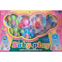 Baby Play Zenélő körforgó kiságyra, pillangós