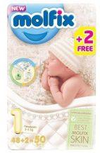 Molfix nadrágpelenka 1 Newborn: 2-5 kg 50 db