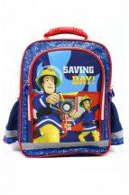Fireman Sam, Sam a Tűzoltó hátizsák, iskolatáska 29*37*13CM