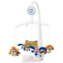 Babymix zenélő körforgó kiságyra - Happy Farm