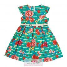 Nagy virág mintás ujjatlan nyári ruha