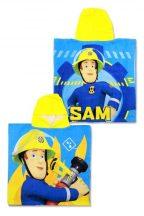 Fireman Sam, Sam a tűzoltó strand törölköző poncsó 55x110cm
