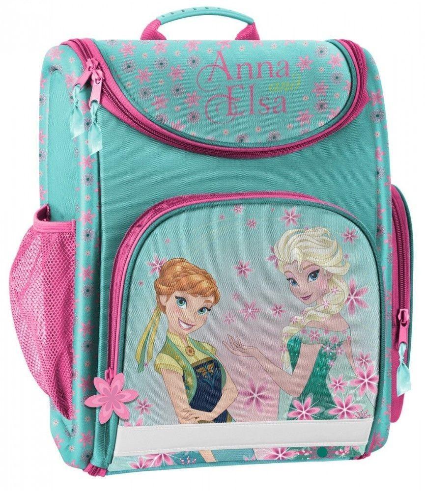 1c94eebbc598 Disney Frozen, Jégvarázs ergonómikus iskolatáska, 37x29x16cm, cipzáras,  türkiz, Paso