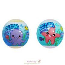 Ocean friends illatos, színes fürdőgolyó, 3 fajta
