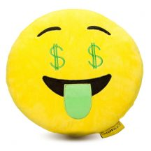 Dollár Emoji Párna 32 cm
