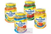 Bébidesszertek- Happy Fruit, 100% gyümölcstartalommal, 4 hónapos kortól