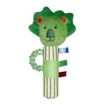 Lorelli rágókás plüss csörgő, marokfigura - oroszlán *