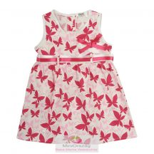 Pillangó mintás ujjatlan nyári ruha