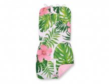 BabyLion Prémium babakocsi betét - Trópusi Virágok - Rózsaszín