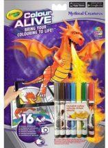 Crayola Color Alive Kastélyok és sárkányok, letölthető mobilalkalmazással
