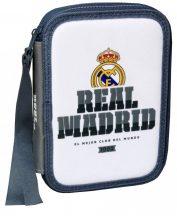 Real Madrid tolltartó, 2 emeletes, töltött, fehér