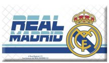 Real Madrid hűtőmágnes Real Madrid logóval, 80x45mm