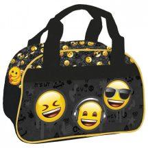 Smiley, emoji kézitáska, sporttáska, 33x21x20cm, EM10