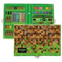 Minecraft mintás rajzkészlet, 71 db-os, DF18, Future by BackUp