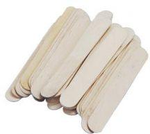 Fa pálcikák, spatula, natúr, 148x17 mm, 36 db/csomag