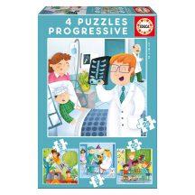 Educa Mi leszek, ha nagy leszek? 4 az 1-ben puzzle