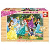 Educa Disney hercegnők fa puzzle, 100 darabos