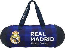 Real Madrid sporttáska, 58x23x23cm, labda formájúra csukható