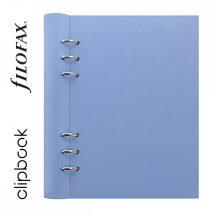 Filofax Clipbook Classic Pastel, A/5, 187x212x28mm, jegyzetlapokkal, égkék