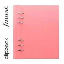 Filofax Clipbook Classic Pastel, A/5, 187x212x28mm, jegyzetlapokkal, rose