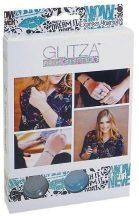 Glitza Fashion csillámtetoválás kezdő szett 2 csillámporral, express yourself