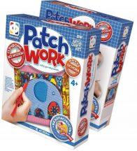 Patchwork képkészítő szett, Elefánt, 4+
