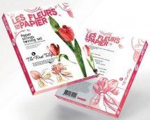 Papírvirág készítő kreatív szett, Tulipán, 8+